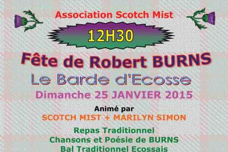 FETE ECOSSAISE Robert BURNS