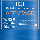 So-grind, point-relais affûtage
